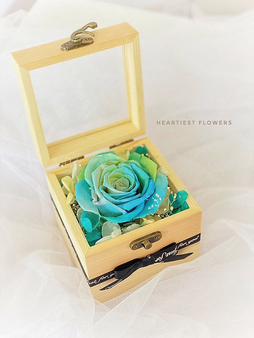Ombre Wooden Box