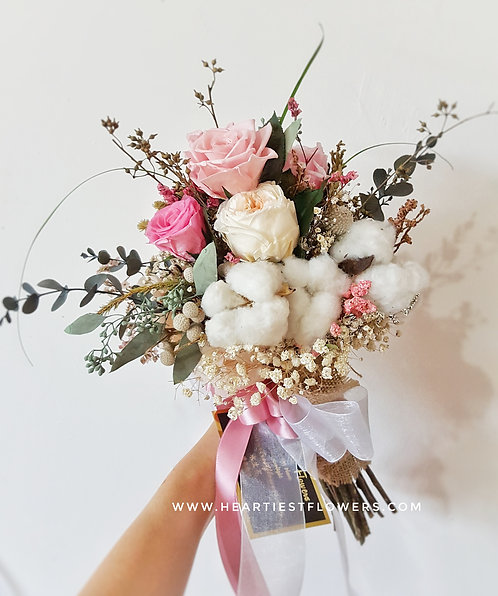 Korean Style Bridal Bouquet
