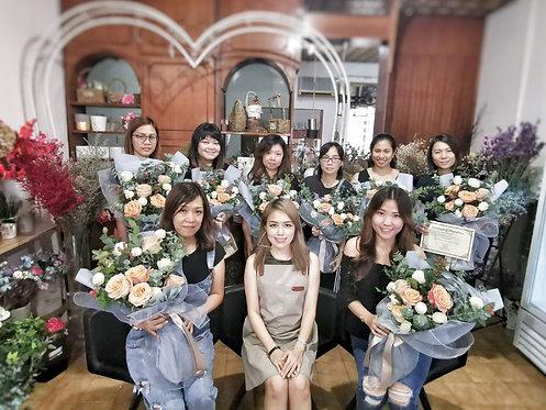 Fresh Flowers Bouquet Workshop