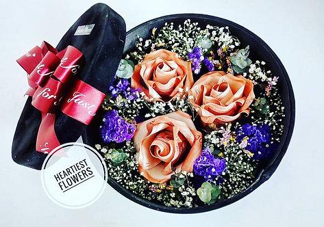 Money Rose Box Flower