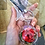 Thumbnail: Red Rose Keychain
