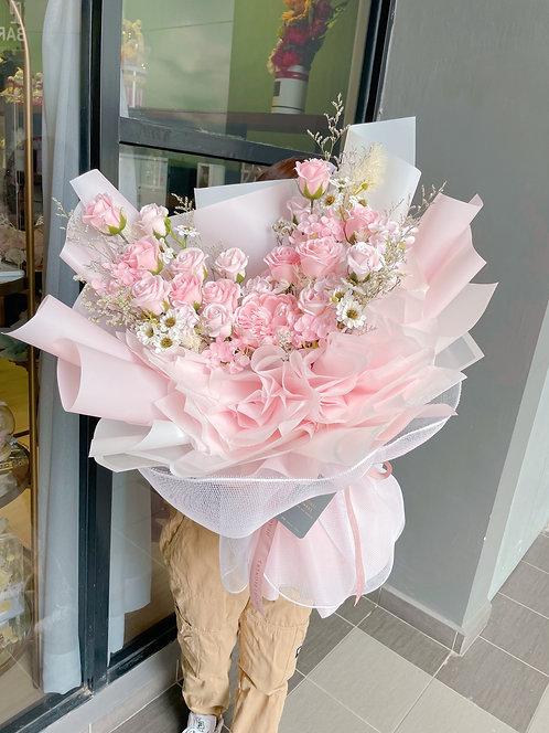 Classy Pastel Bloom - Soap Flower