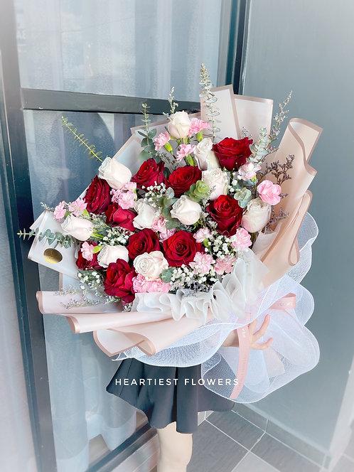Fabulous Day - Fresh Flower Bouquet (24 stalks)