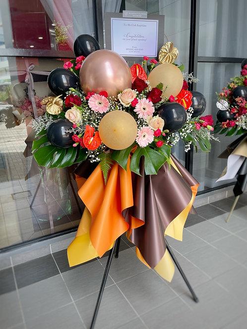 Energized Opening Stand - Fresh Flower Arrangement