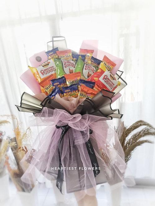 Yummy Bunch - Snack Bouquet