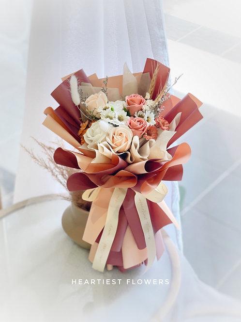 Coffee Day - Soap Flower