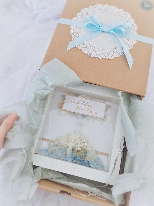 Angel Frame  - Preserved Flower Design