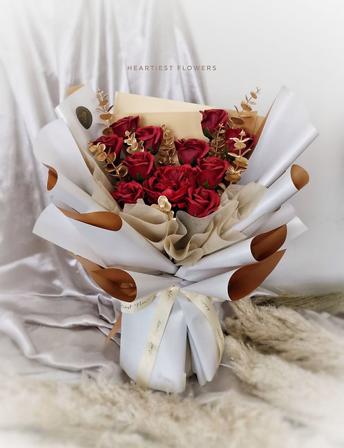 True Love Story - Soap Flower Bouquet