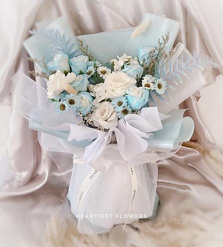 Frozen Wonderland - Soap Flower Bouquet