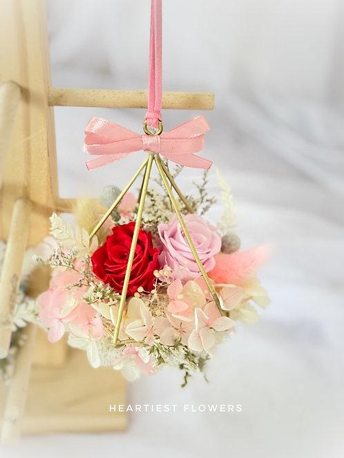 Hanging Garden - Preserved Flower Hanging Ornament