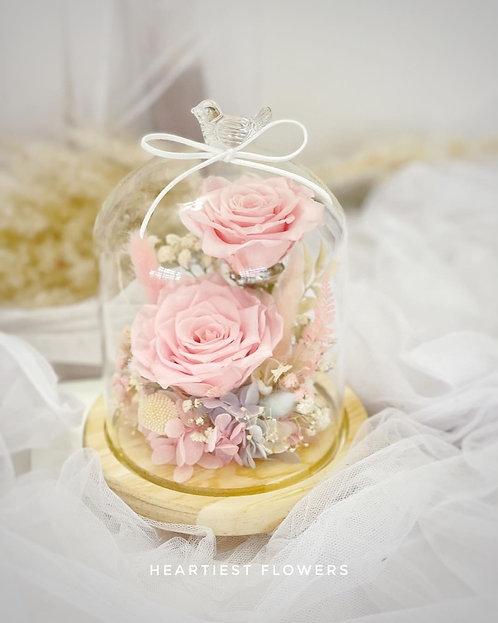 Pink Charmer - Preserved Rose Arrangement