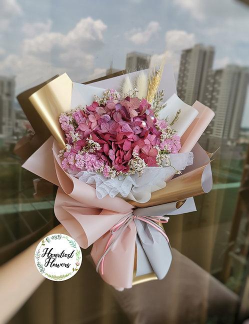 Autumn Bunch - Preserved Hydrangea Bouquet