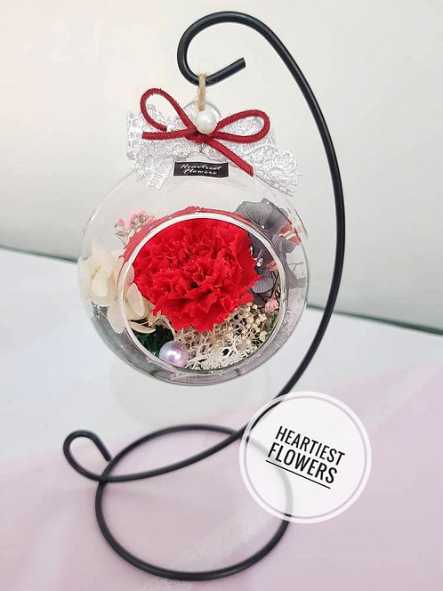 Carnation Hanging Jar