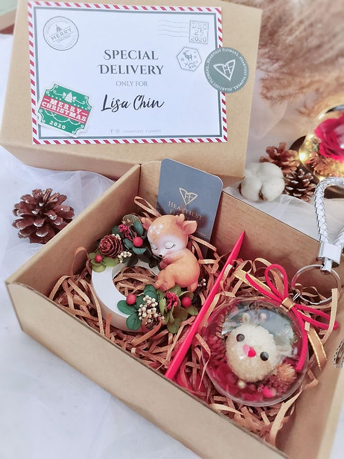 Christmas Special - Heartiest Flowers Gift Box