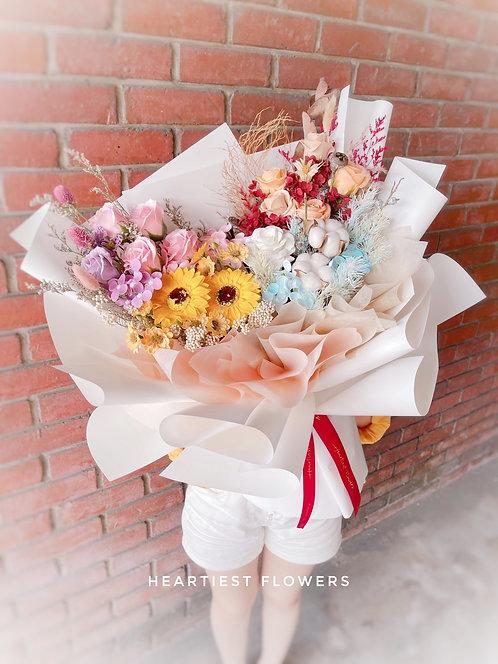 4 Season of Life - Soap Flower Bouquet