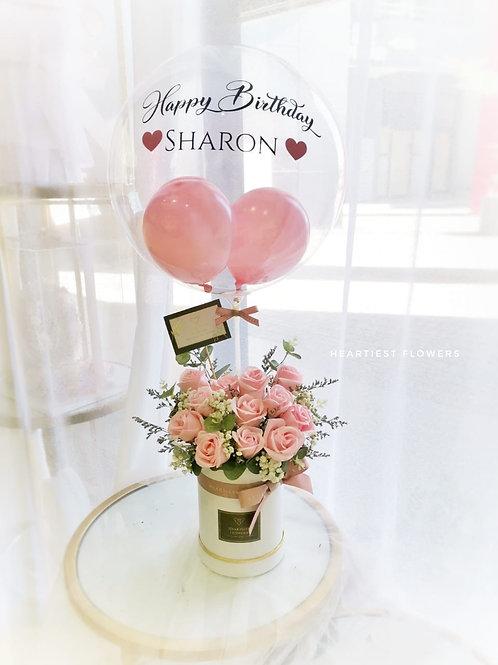 Happy Birthday - Soap Flower