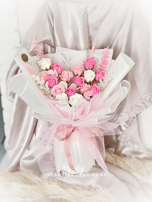 Sakura - Soap Flower Bouquet