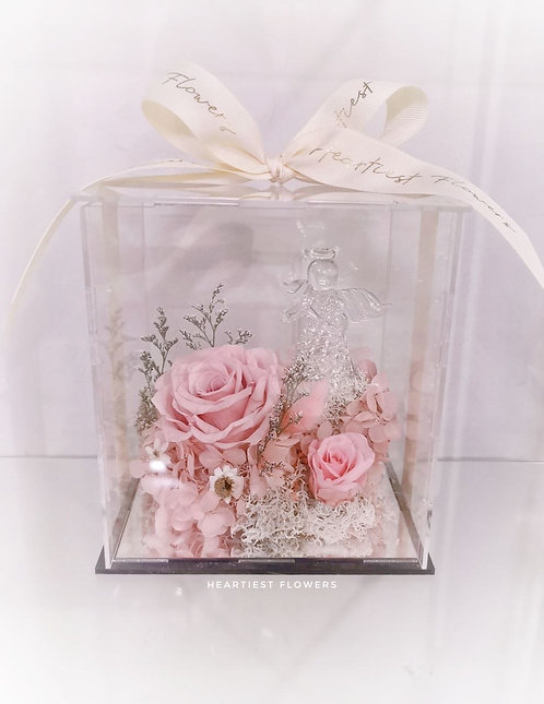 Angel Blessing - Preserved Flower Arrangement