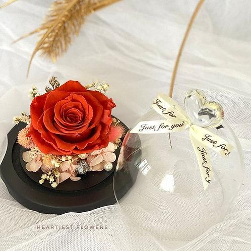 Vintage Rose Jar