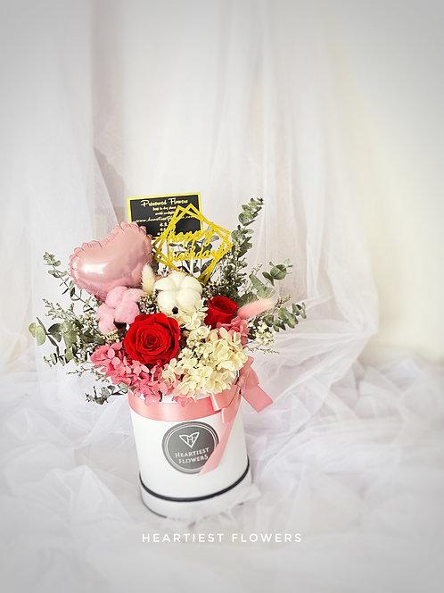 Precious Birthday - Preserved Flower Arrangement