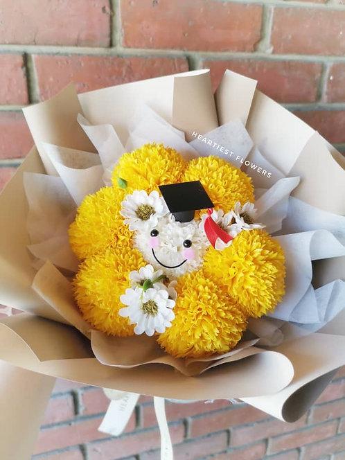 Sunshine Graduation - Soap Flower Bouquet