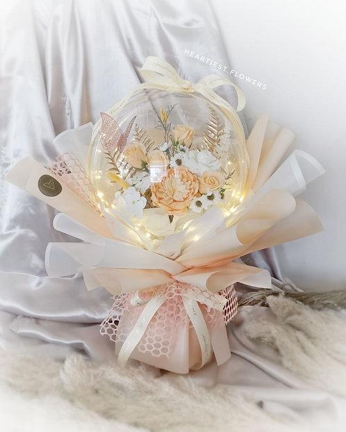 Bubble Garden - Soap Flower Bouquet with LED