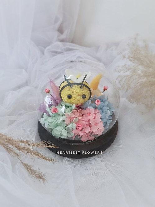Preserved Bee Rainbow Jar
