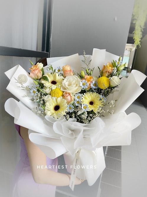 Sending A Smile - Fresh Flower Bouquet