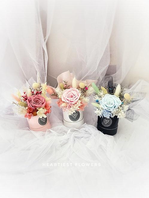 Preserved Rose Elegant Small Box
