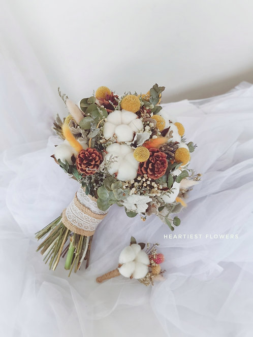 Auntumn Fall Vintage Bouquet