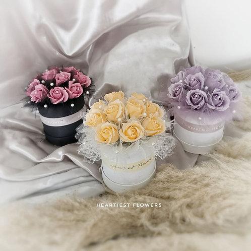 Pearl Love - Soap Flower Arrangement