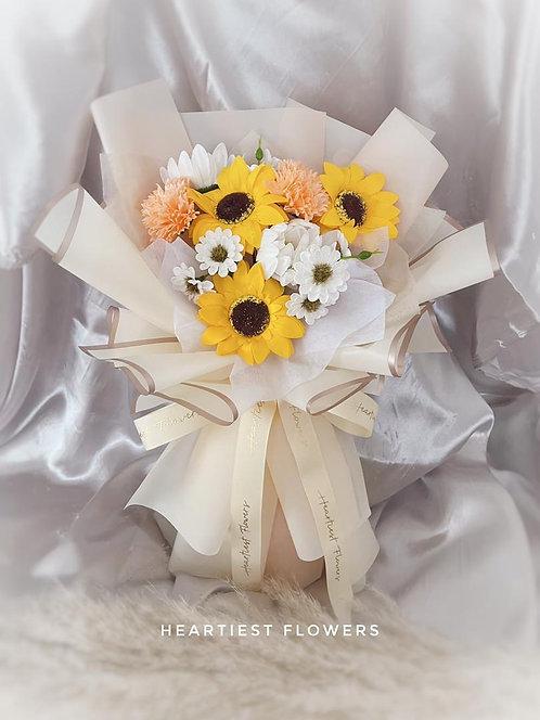 Summer Breeze - Soap Flower Bouquet
