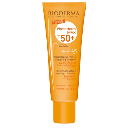Photoderm Max Aqua Fluide Teinte Doree Spf50+ 40ml