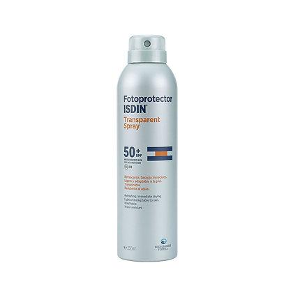 Fotoprotector Isdin Transparent Spray 50+ 250ml