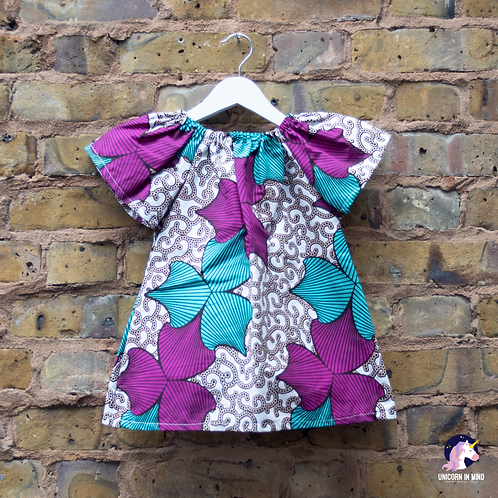 12-18 Months/4-5 Years African Ankara Dress