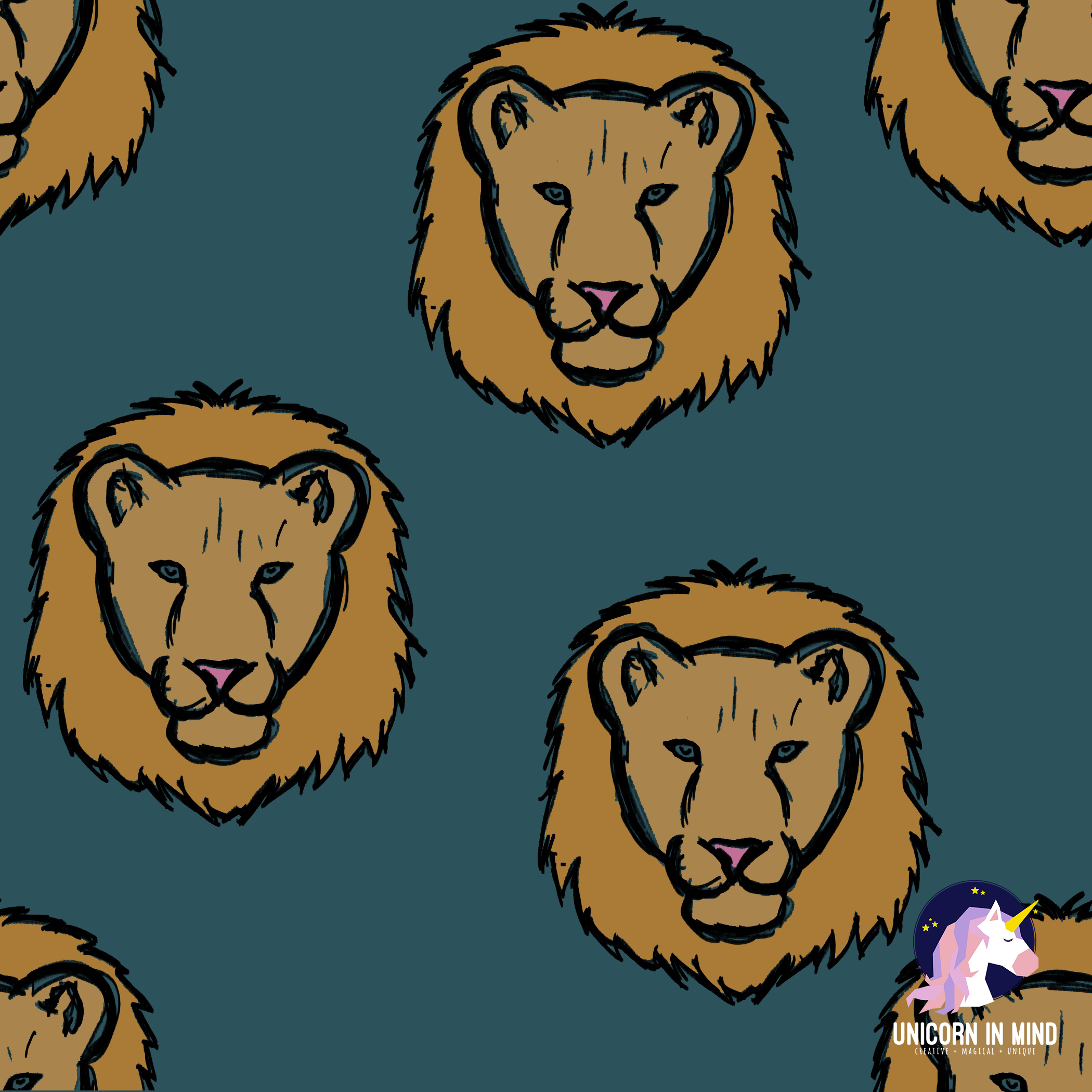 SCRIBBLED LIONS-WATERMARKED
