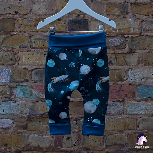 Space Theme Grow With Me Pants