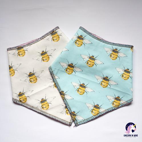 Bumble Bee Bandana Bibs