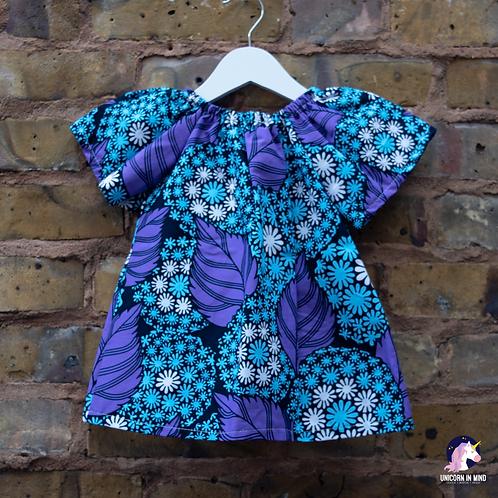 6-12 Months African Ankara Dress