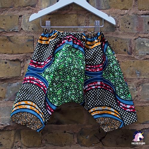 African Ankara Print Haram Trousers