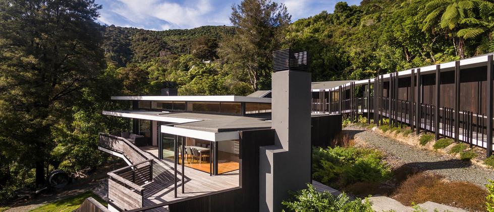 Moetapu Bay House 1