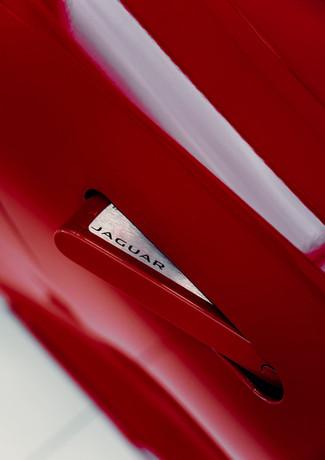 Handle of a Jaguar F-Type