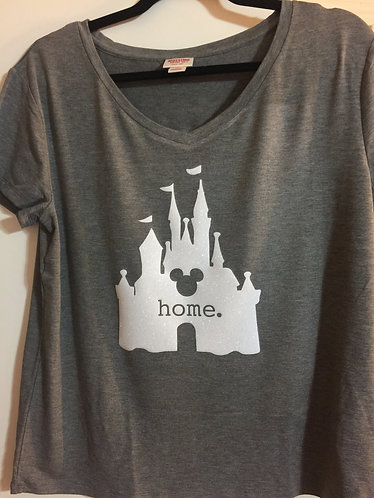 Disney home soft V-neck
