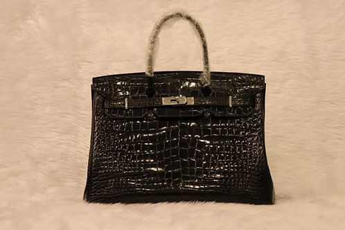 Crocodile Bag style Birkin