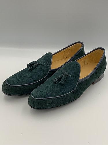 Lambskin Suede loafers