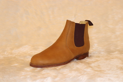 Ankle Boots in Nubuck Leather
