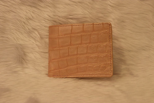 Crocodile Wallet inside & outside