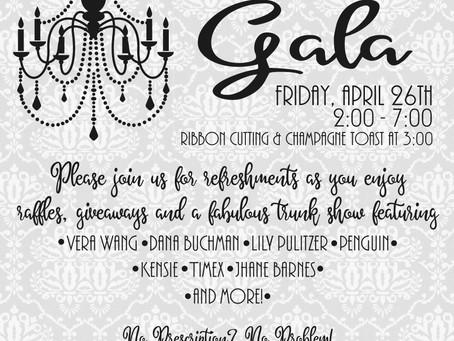 Grand Opening Gala!
