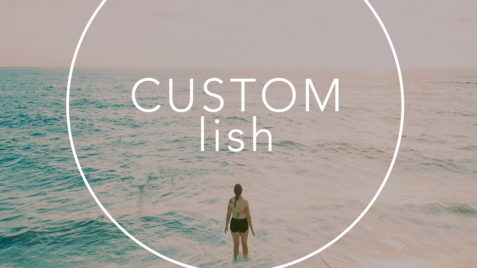 CustomLish | Session