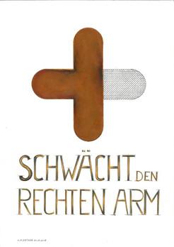 Schwächt den rechten Arm